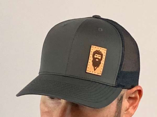 Initial Ascent Leather Patch Hat